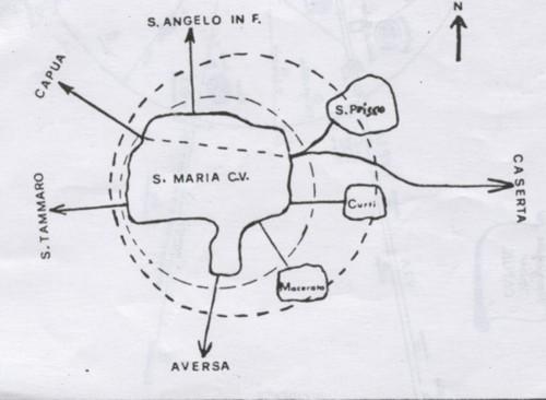 S. Maria C.V. e dintorni