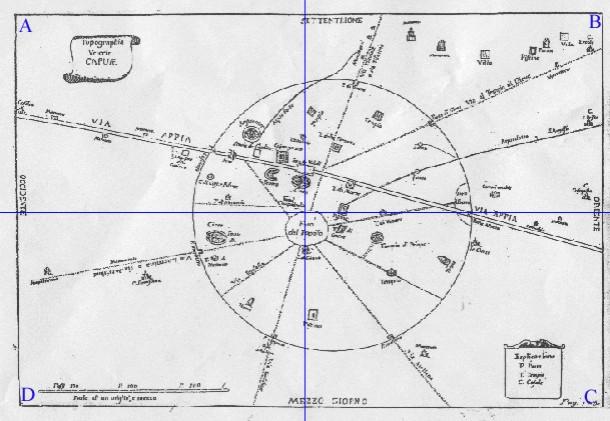 Le comunicazioni stradali attraverso i tempi: CAPUA-NEAPOLIS.