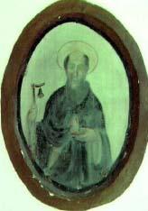 Medaglione - Cappellina di S.Maria delle Grazie