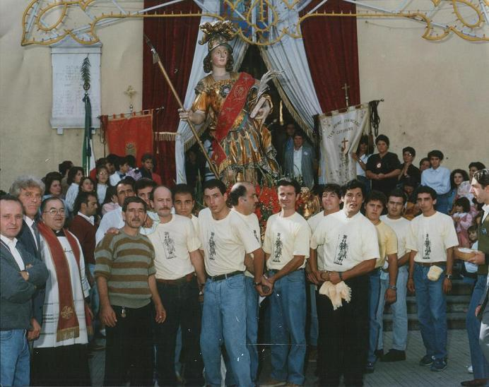 Processione dedicata a San Marcello Martire (Caturano - 1993)