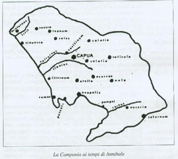 la Campania ai tempi di Annibale
