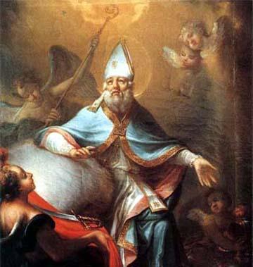 San Martino, il mantello ed il mendicante.