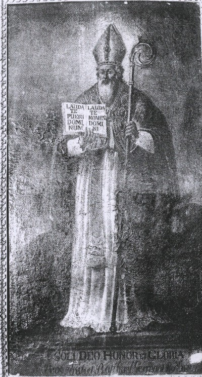 Dipinto raffigurante S. Martino