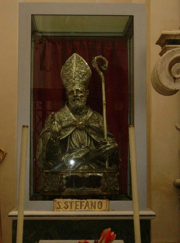 Busto di S. Stefano Menecillo - Caiazzo (Caserta)