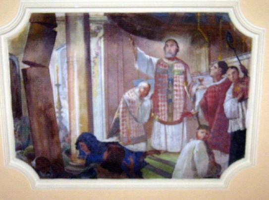 """Dipinto """"Miracolo della Colonna"""""""