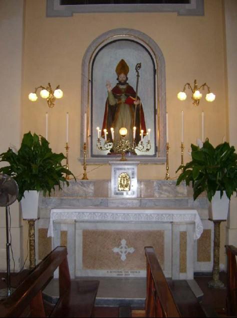Statua di S. Stefano Menecillo - Macerata Campania (Caserta)