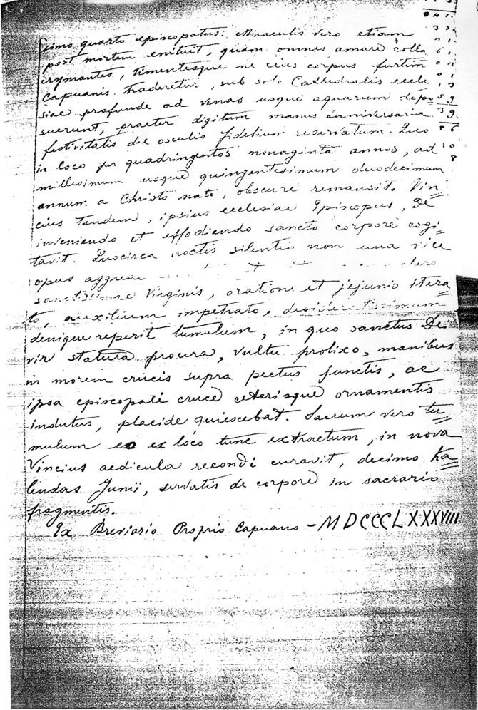 Documento anno 1888