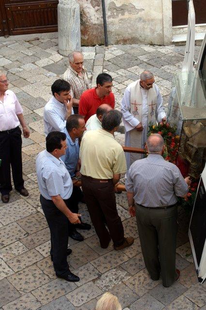 Traslazione dell'urna a Macerata Campania