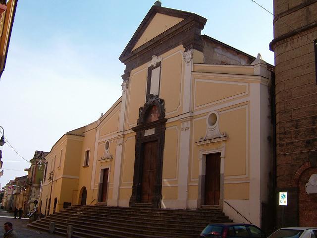 Chiesa Abbaziale di San Martino Vescovo - Macerata Campania (CE)
