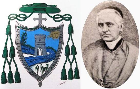 Il vescovo Filippo Mincione e il suo stemma araldico